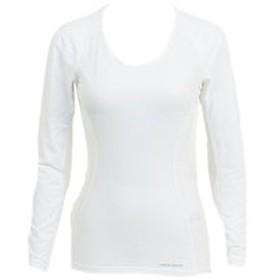 【Victoria L-Breath & mall店:スポーツ】クールフィットドライ UV ロングスリーブ W118 ホワイト