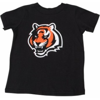 Outerstuff アウタースタッフ スポーツ用品 Cincinnati Bengals Toddler Black Team Logo T-Shirt