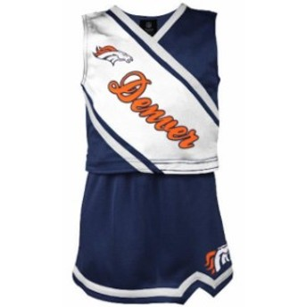 Outerstuff アウタースタッフ スポーツ用品 Denver Broncos Girls Youth Navy 2-Piece Cheerleader Set