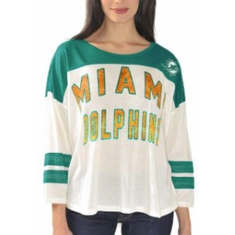 G-III 4Her by Carl Banks ジースリー フォーハー バイ カール バンクス スポーツ用品 Miami Dolphins Womens