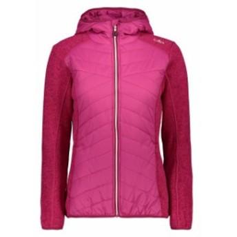 cmp シーエムピー アウトドア 女性用ウェア フリース cmp jacket-fix-hood-hybrid