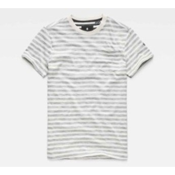 gstar ジースター ファッション 男性用ウェア Tシャツ gstar classic-relaxed-pocket-ribbed-neck-phean-jersey