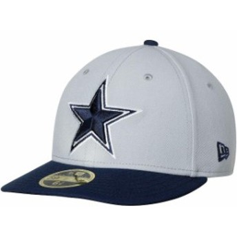 New Era ニュー エラ スポーツ用品 New Era Dallas Cowboys Gray/Navy Omaha II Low Profile 59FIFTY Fitted Hat