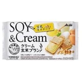 バランスアップ クリーム玄米ブラン 豆乳カスタード(2枚×2袋) アサヒグループ食品 クリ-ムゲンマイBトウニユウカスタ-ト 返品種別B