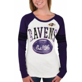 G-III 4Her by Carl Banks ジースリー フォーハー バイ カール バンクス スポーツ用品  Baltimore Ravens Purp