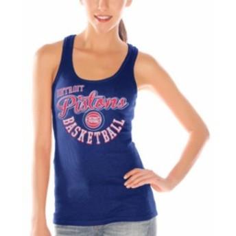 G-III 4Her by Carl Banks ジースリー フォーハー バイ カール バンクス スポーツ用品 Detroit Pistons Women