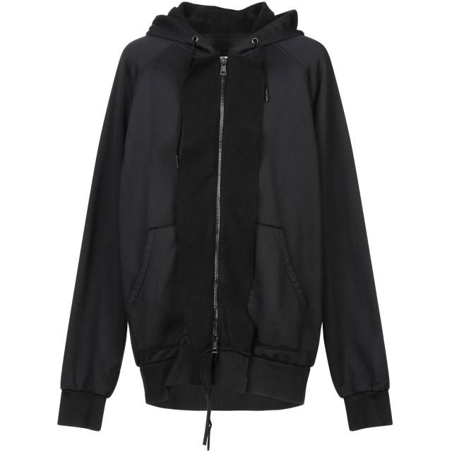 《セール開催中》TOM REBL メンズ スウェットシャツ ブラック XS コットン 98% / ポリウレタン 2%