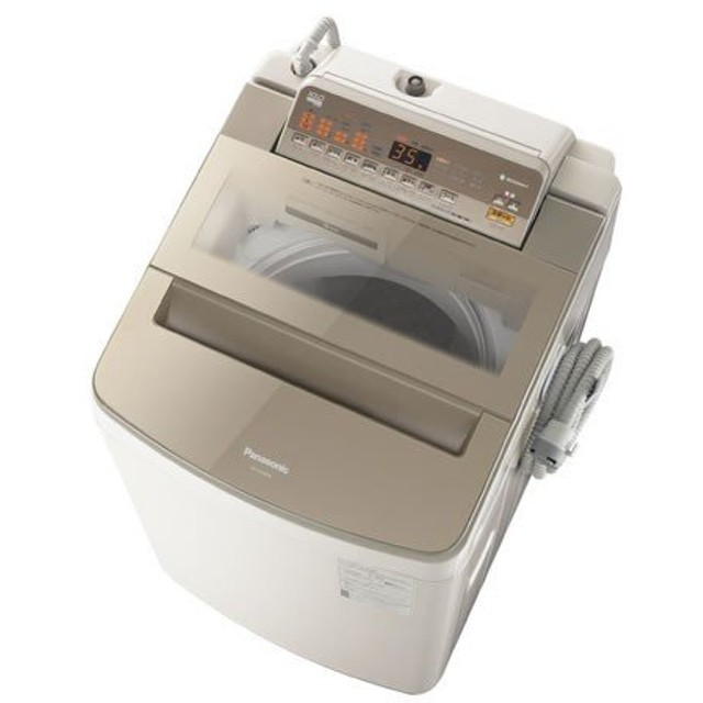 パナソニック 洗濯機 縦型 NA-FA100H6-T 10キロ 10kg 自動槽洗浄 全自動 送風乾燥 節水 ブラウン