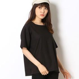 [マルイ]【セール】ポケット付きボックス布帛Tシャツ/リラシク(LILASIC)