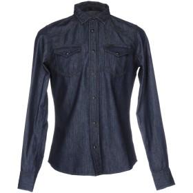 《期間限定セール開催中!》DIESEL メンズ デニムシャツ ブルー S コットン 100%