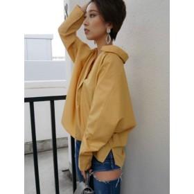 シャツ - GYDA スキッパーシャツ