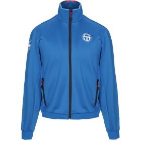 《期間限定 セール開催中》SERGIO TACCHINI メンズ スウェットシャツ ブライトブルー S ポリエステル 94% / ポリウレタン 6%