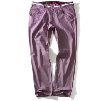 その他パンツ・ズボン - 大きいサイズの店ビッグエムワン 大きいサイズ メンズ Bowerbirds Works テープ × ファスナー使い ストレッチ ゴルフ パンツ 春夏新作azp-1273