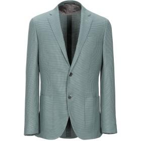 《期間限定セール開催中!》CORNELIANI メンズ テーラードジャケット グリーン 48 バージンウール 62% / シルク 38%
