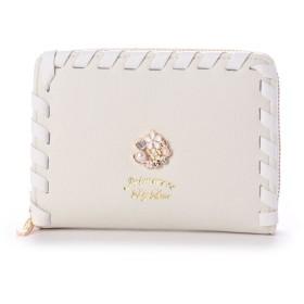 プリムヴェールリズリサ Primevere LIZ LISA リジシリーズ 2つ折り財布 (ホワイト)
