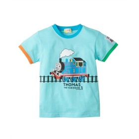 【きかんしゃトーマス】色柄が選べる半袖Tシャツ(男の子 ベビー服 子供服) Tシャツ・カットソー