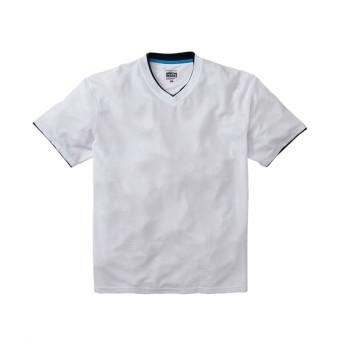 Gerry Cosby(ジェリーコスビー) 吸汗速乾。消臭テープ付きワッフルVネック半袖Tシャツ Tシャツ・カットソー
