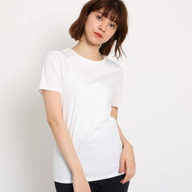 ジェット ニューヨーク JET NEWYORK 【洗える】コットンスムースベーシックTシャツ (ホワイト)