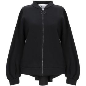 《期間限定セール開催中!》8PM レディース スウェットシャツ ブラック XS コットン 65% / ポリエステル 35%