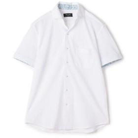 【30%OFF】 メンズビギ COOLMAXカノコ シャツ メンズ ホワイト L 【Men's Bigi】 【セール開催中】