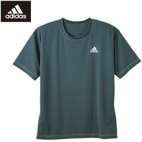 GUNZE グンゼ adidas(アディダス) インナーTシャツ(メンズ)【SALE】 ディープブルー LL
