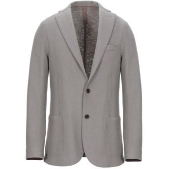 《期間限定セール開催中!》ELEVENTY メンズ テーラードジャケット グレー 48 バージンウール 100%