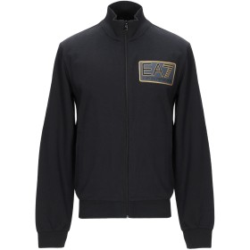 《期間限定 セール開催中》EA7 メンズ スウェットシャツ ブラック XS コットン 97% / ポリウレタン 3%