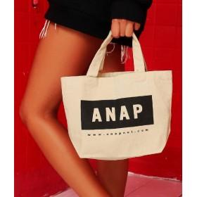 ANAP(アナップ)/ANAPロゴキャンバスミニトートBA