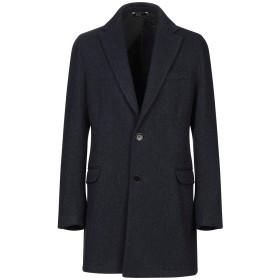 《期間限定 セール開催中》EXIGO メンズ コート ダークブルー 52 ウール 75% / ポリエステル 25%