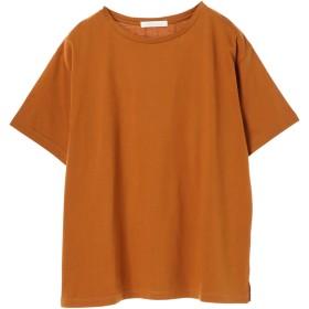 【5,000円以上お買物で送料無料】BASIC5分袖ゆるシTャツ