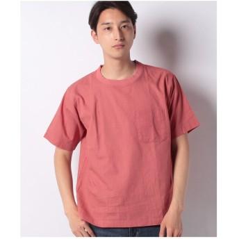 ikka コットンプルオーバーシャツT(ピンク)【返品不可商品】