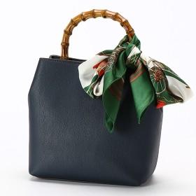 [マルイ]【セール】バンブーハンドル2WAYミニショルダーバッグ(スカーフ付き)/リム(LIMP)