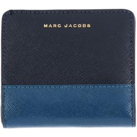 《期間限定セール開催中!》MARC JACOBS レディース 財布 ダークブルー 牛革 100%