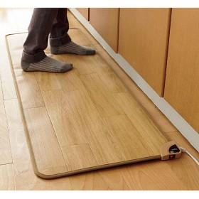 ホットキッチンマット - セシール ■カラー:ブラウン ダークブラウン ■サイズ:D(横240×縦45cm),A(横90×縦45cm)