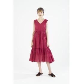 ne Quittez pas / ヌキテパ/【ウォッシャブル】CTN VOIL STRING DRESS ワンピース