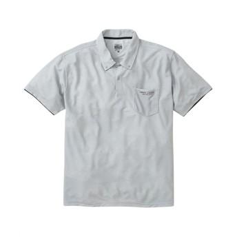 Gerry Cosby(ジェリーコスビー) 吸汗速乾。消臭テープ付きワッフル共衿半袖ポロシャツ ポロシャツ