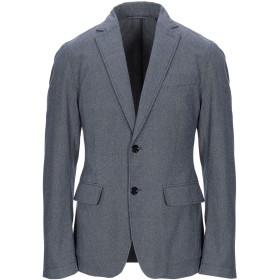 《セール開催中》BOSS BLACK メンズ テーラードジャケット ブライトブルー 46 コットン 100%