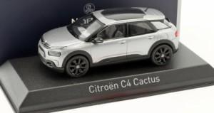 NOREV 155476 Citroen C4 Cactus 2018 Aluminium Grey /& Black deco  1//43