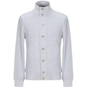 《送料無料》ELEVENTY メンズ スウェットシャツ グレー M コットン 98% / ナイロン 2%
