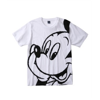 DISNEY(ディズニー) ミッキービッグプリント半袖Tシャツ(顔部) Tシャツ・カットソー
