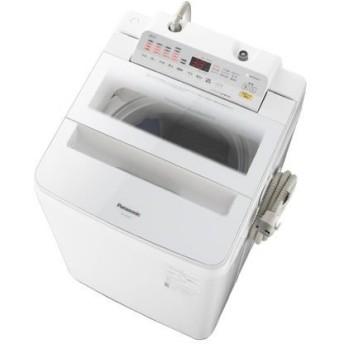 パナソニック 洗濯機 縦型 NA-FA90H6-W 9キロ 9kg 自動槽洗浄 全自動 送風乾燥 節水 ホワイト