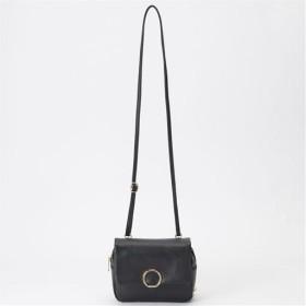 お財布付きミニショルダー - セシール ■カラー:ブラック