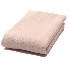 洗ってもふっくらバスタオル ピンク ホームコーディ