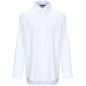 《セール開催中》EMPORIO CLOTHING メンズ シャツ ホワイト 43 コットン 100%