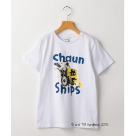 (SHIPS KIDS/シップス キッズ)SHIPS KIDS:【ひつじのショーン】<MAYHEM IN THE MEADOW!>Tシャツ(145cm)/レディース ホワイト