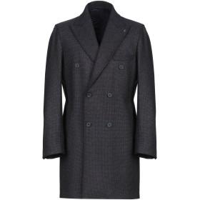 《期間限定セール開催中!》GALLERY メンズ コート ダークブルー 52 ポリエステル 57% / アクリル 39% / ウール 4%