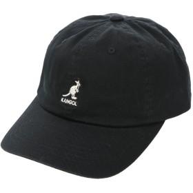 アースミュージックアンドエコロジー earth music & ecology KANGOL Washed Baseball (Black)