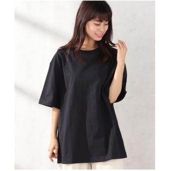 koe 【UNISEX対応】ヘビーウェイトコットンTシャツ(ブラック)【返品不可商品】