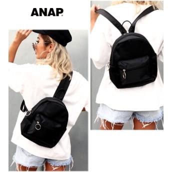 ANAP(アナップ)リングジップ2WAYバッグ