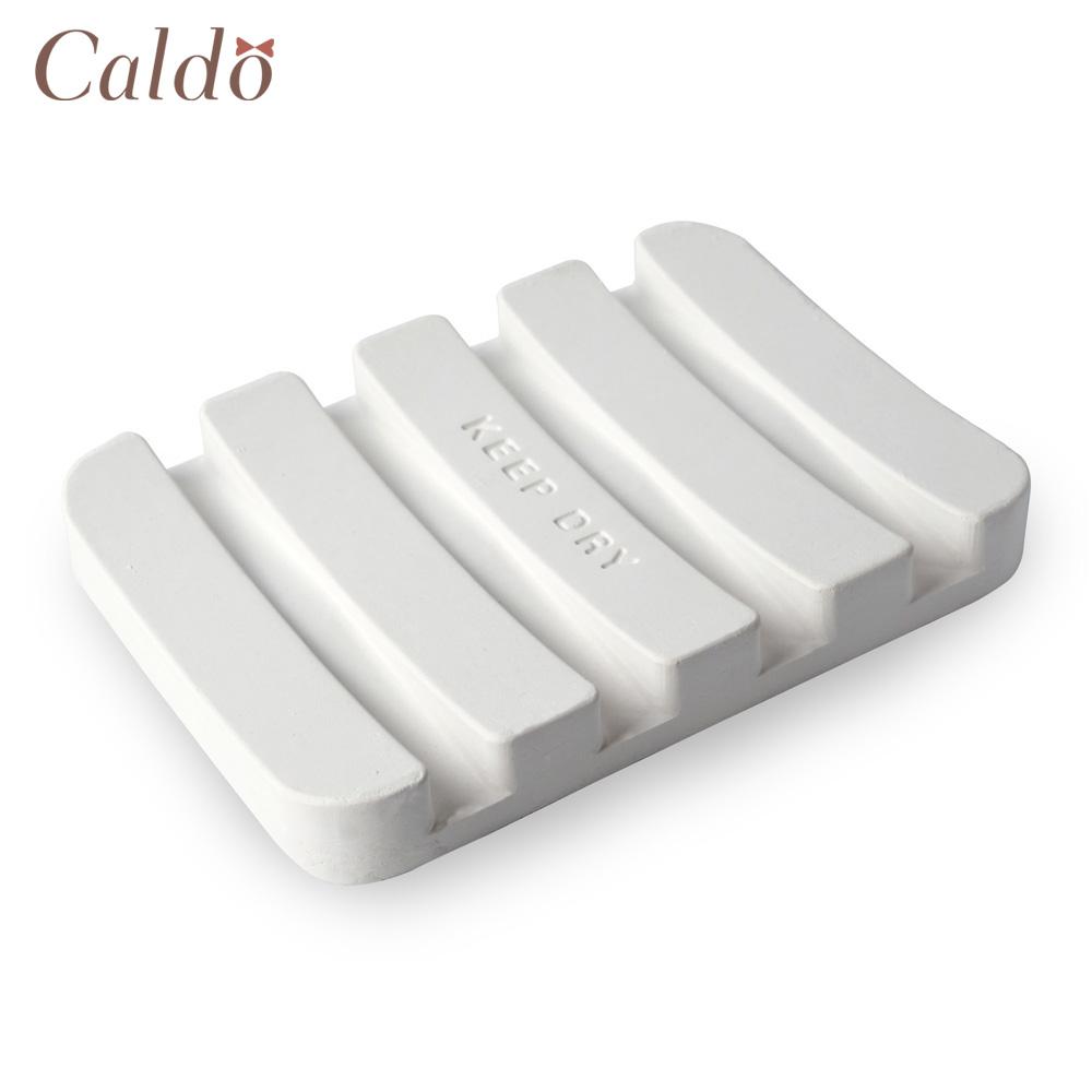 【Caldo卡朵生活】肥皂專用珪藻土浴室皂墊